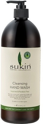Sukin Cleansing Hand Wash pump 1 Litre
