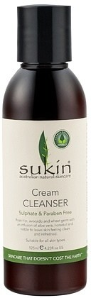 Sukin Cream Cleanser Cap 125ml