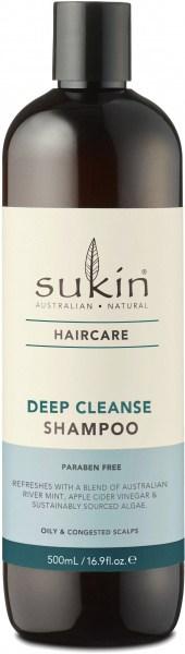 Sukin Deep Cleanse Shampoo 500ml Cap