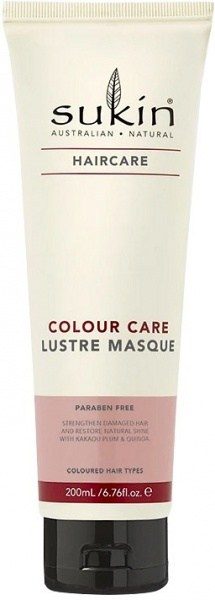 Sukin Haircare Colour Lustre Masque 200ml