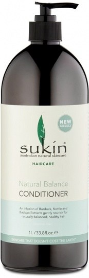 Sukin Haircare Natural Balance Conditioner 1 Litre - Lureen