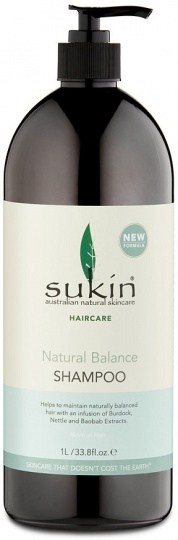 Sukin Haircare Natural Balance Shampoo 1 Litre - Lureen