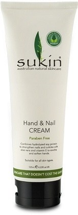 Sukin Hand & Nail Cream Tube 125ml