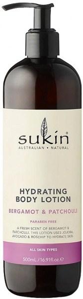 Sukin Hydrating Body Lotion Bergamot & Patchouli   500ml