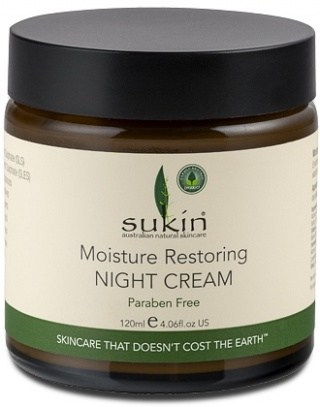 Sukin Moisture Restore Night Cream Jar120ml