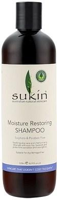 Sukin Moisture Restoring Shampoo Cap 500ml