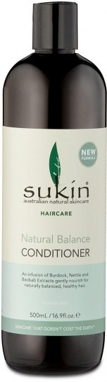 Sukin Natural Balance Conditioner 500ml Cap