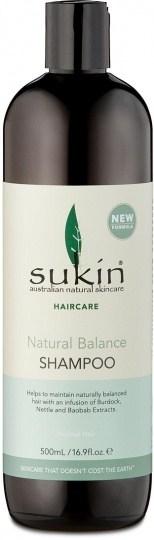 Sukin Natural Balance Shampoo 500ml Cap