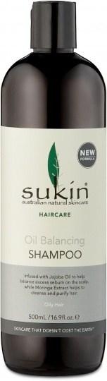 Sukin Oil Balancing Shampoo 500ml Cap