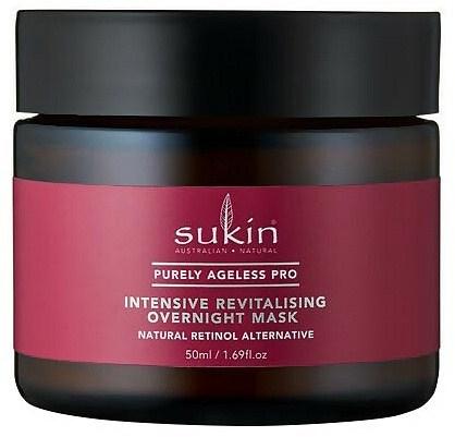 Sukin PA PRO Intensive Revitalising Overnight Mask 50ml Jar