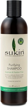Sukin Purifying Shampoo Cap 250ml