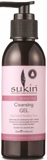 Sukin Sensitive Cleansing Gel 125ml