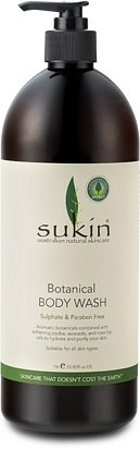 Sukin Signature Botanical Body Was Signature Scent 1 Litre - Lureen
