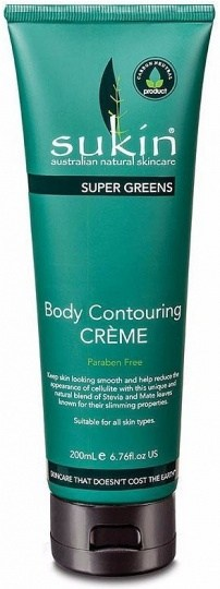 Sukin Super Greens Body Contouring Creme 200ml
