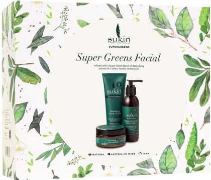 Sukin Super Greens Facial Pack