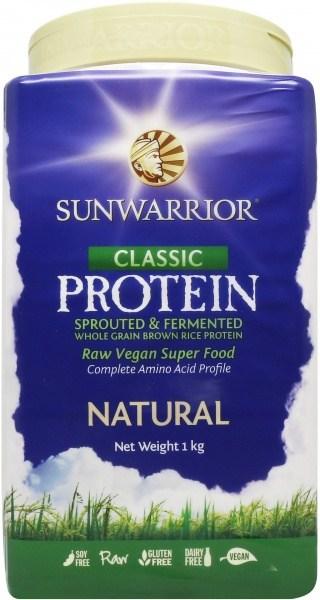 Sunwarrior Classic Rice Protein Natural Powder 1Kg