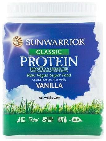 Sunwarrior Classic Rice Protein Vanilla Powder 500g