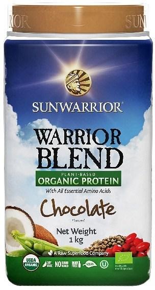 Sunwarrior Warrior Blend Organic Protein Chocolate Blend 1Kg