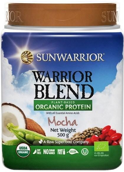 Sunwarrior Warrior Blend Organic Protein Mocha Blend 500g