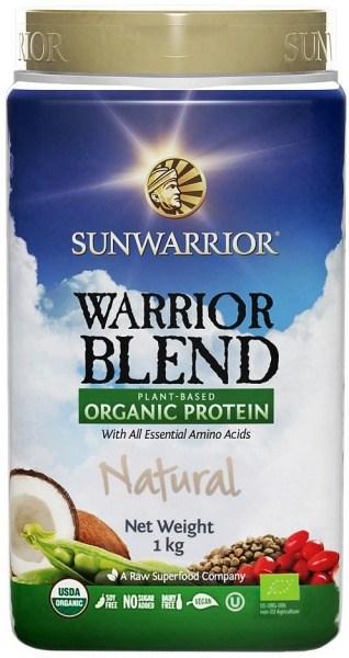 Sunwarrior Warrior Blend Organic Protein Natural Blend 1Kg