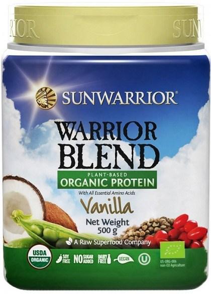 Sunwarrior Warrior Blend Organic Protein Vanilla Blend 500g