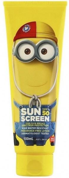 Surf Life Saving Sunscreen Despicable Me SPF50+ 100mL