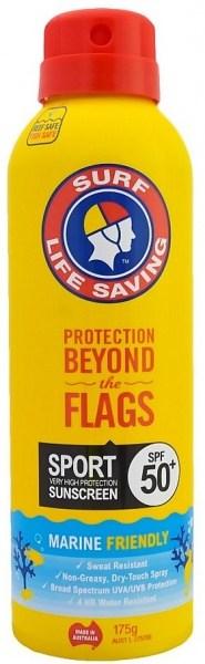 Surf Life Saving Sunscreen Sport SPF50+ Spray 175g