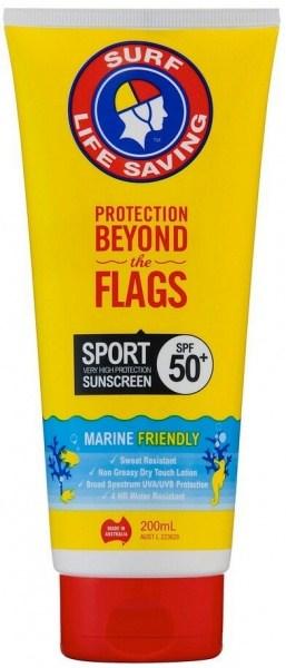 Surf Life Saving Sunscreen Sport SPF50+ Tube 200ml