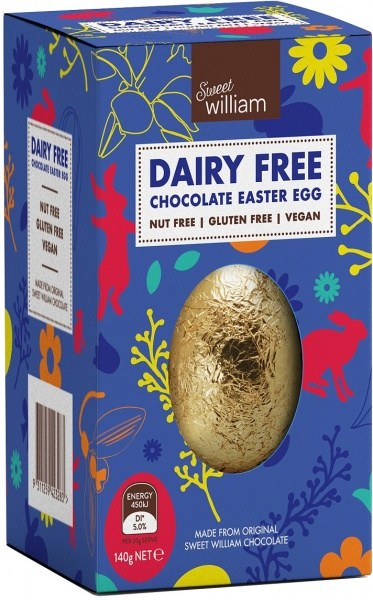Sweet William Hollow Chocolate Easter Egg  140g