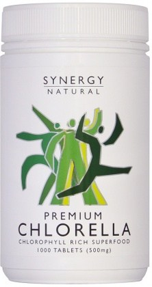 Synergy Chlorella 500mg 1000tabs Premium