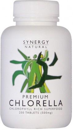 Synergy Chlorella 500mg x 200tabs Premium