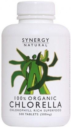 Synergy Chlorella 500mg x 500tabs Organic