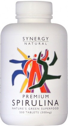 Synergy Spirulina  500mg x 500 tabs