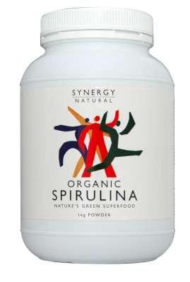 Synergy Spirulina Powder  1kg Organic