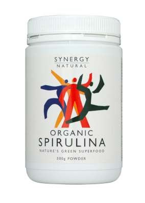 Synergy Spirulina Powder 500gm Organic