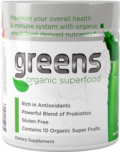 SystemLS Greens Organic Superfoods Berry Flavour 210g