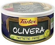 Tartex Pates Organic Olive 125gm Can