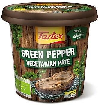 Tartex Pates Organic Pate Green Pepper  125g