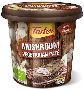 Tartex Pates Organic Pate Mushroom  125g
