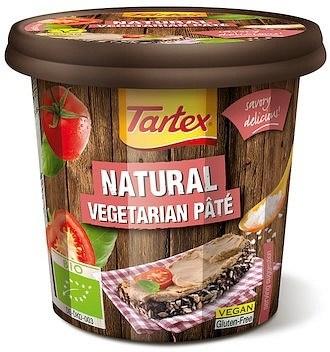 Tartex Pates Organic Pate Natural  125g