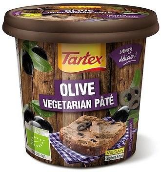 Tartex Pates Organic Pate Olive  125g