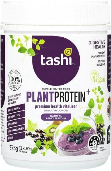 Tashi Premium Health Vitalizer Berry Protein Powder  375g