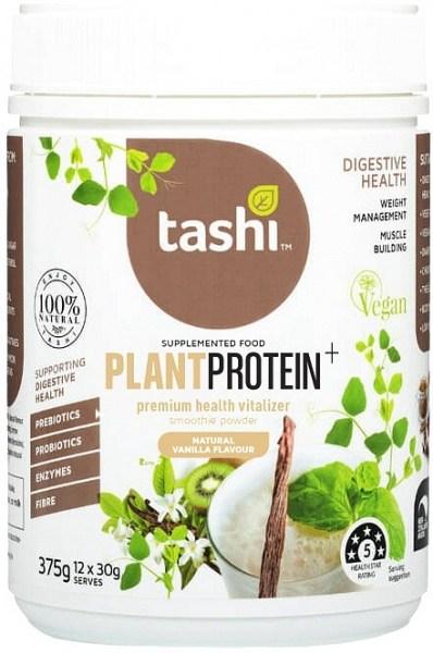 Tashi Premium Health Vitalizer Vanilla Protein Powder G/f 375g