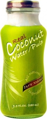 Taste Nirvana Real Coconut Water Pulp  12x280ml bottles