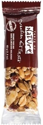 Taste of Nature Organic Brazilian Nut Fiesta Bar  16x40g