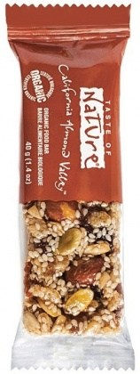 Taste of Nature Organic California Almond Valley  16x40g