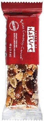 Taste of Nature Organic Quebec Cranberry Carnival  16x40g
