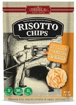 Tavola Risotto Chips Italian Parmesan Cheese 84g