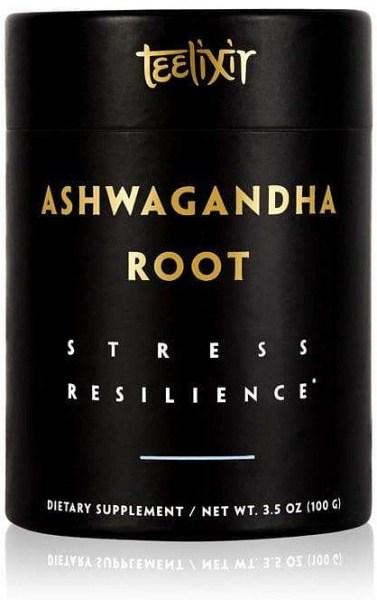 Teelixir Organic Ashwagandha Root Powder Stress Resilience  100g