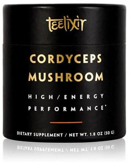 Teelixir Organic Cordyceps Mushroom Powder High/Energy Performance  50g